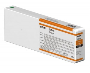 Tusz Epson Orange T804A - OR