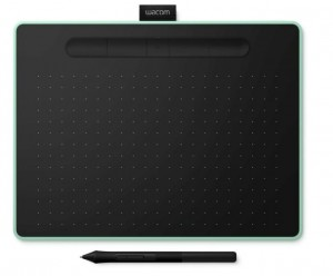 Tablet Wacom Intuos M Bluetooth Pistachio - CTL-6100WLE-N