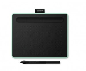 Tablet Wacom Intuos S Bluetooth Pistachio - CTL-4100WLE-N